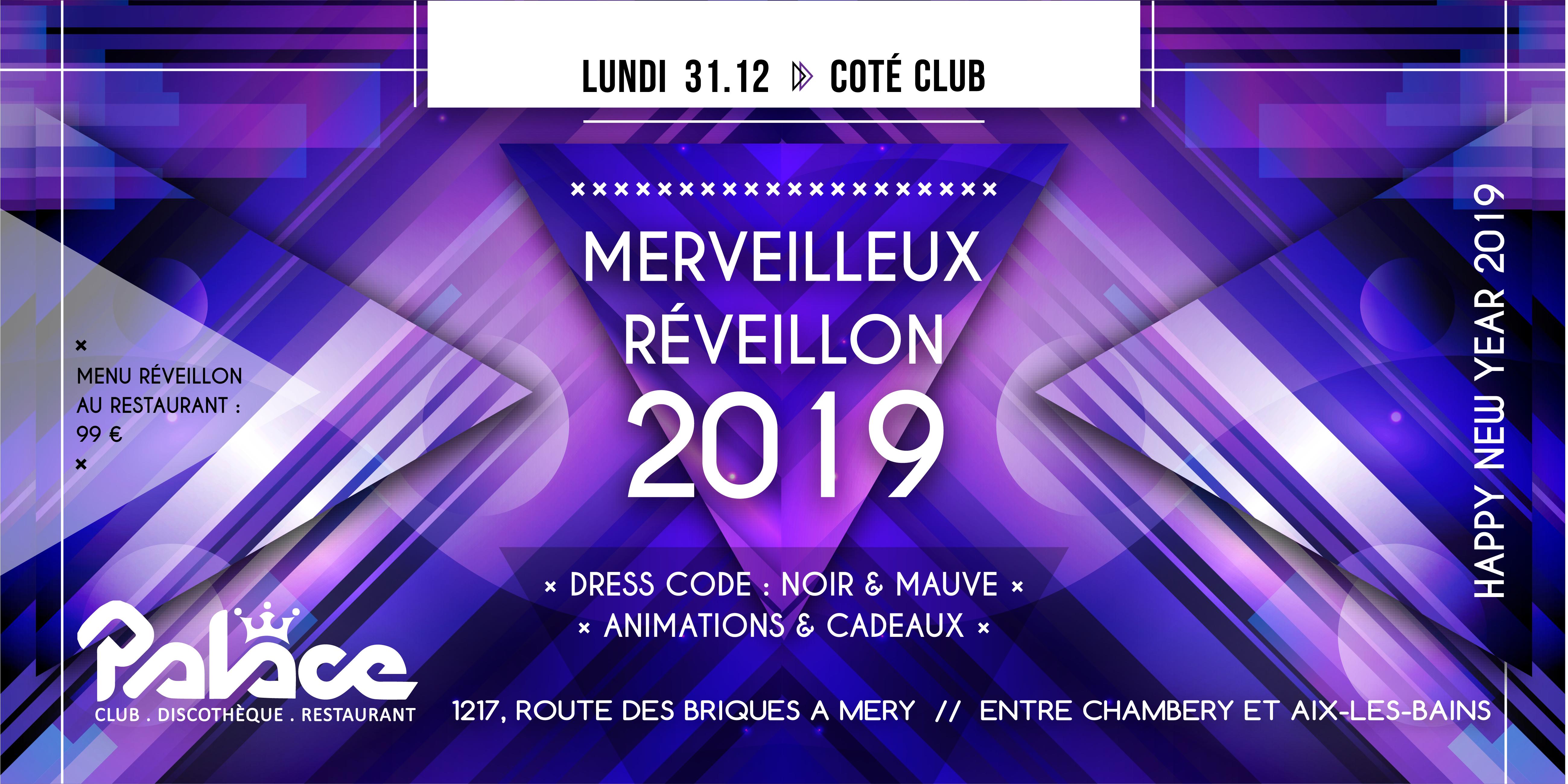 FLYER Réveillon 2019 Club